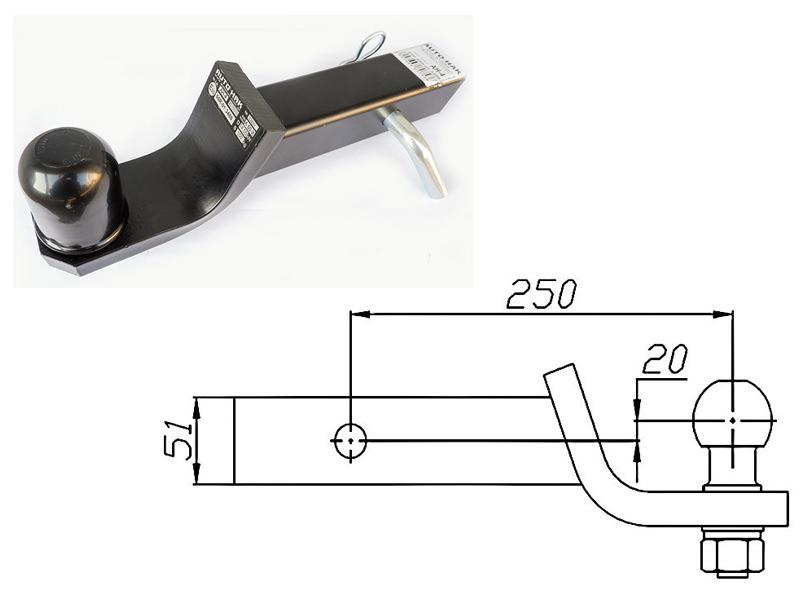 Amerikietiško kablio antgalis adapteris usa eu auto hak ah 4